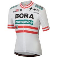 Sportful Bora Hansgrohe Austrian Champion BodyFit Team Jersey - White - XXL