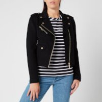 MICHAEL MICHAEL KORS Women's Double Face Moto Jacket - Black - M