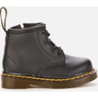 Dr. Martens Toddlers' 1460 Leather Lace-Up 4 Eye Boots - Black - UK 3 Toddler