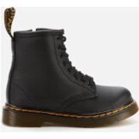 Dr. Martens Toddlers' 1460 Leather Lace-Up Boots - Black - UK 5.5 Toddler