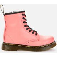 Dr. Martens Kids 1460 Leather Lace-Up Boots - Acid Pink - UK 2 Kids