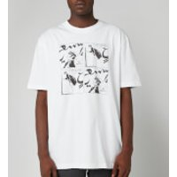 Lanvin Men's Cartoon Print T-Shirt - White - M