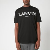 Lanvin Men's Chest Logo T-Shirt - Black - XL