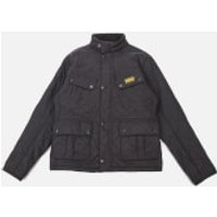 Barbour International Boys Ariel Polar Quilt Jacket - Black - M (8-9 Years)