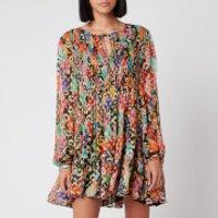 RIXO Women's Dianna Dress - Patchwork - S