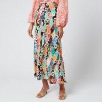 RIXO Women's Kelly Skirt - Patchwork - L