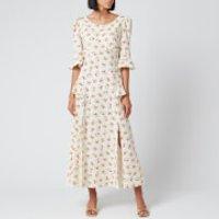 RIXO Women's Quinn Maxi Dress - Garden Ditsy - L