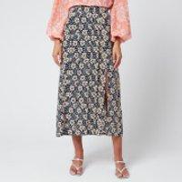 RIXO Women's Georgia Skirt - Wallpaper Floral - L