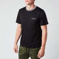 Missoni Men's Short Sleeve Collar Detail T-Shirt - Black - M