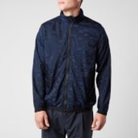 Missoni Men's Hooded Zipped Anorak Jacket - Navy - XL