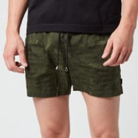 Missoni Men's Logo Print Drawcord Swim Shorts - Green - S