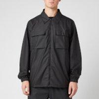 RAINS Men's Ultralight Zip Shirt - Black - XS/S
