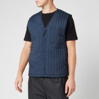 RAINS Men's Liner Vest - Blue - S/M