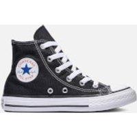 Converse Kids' Chuck Taylor All Star Hi-Top Trainers - Black - UK 12 Kids