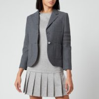 Thom Browne Women's Sport Coat - Med Grey - IT 40/UK 8