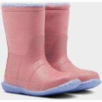 Hunter Toddlers' Sherpa Boots - Hibiscus Pink/Puplit Purple - UK 4 Toddler