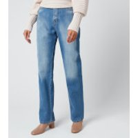 Victoria, Victoria Beckham Women's Midtown Straight Jeans - Horizon Blue - W30