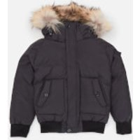 Pyrenex Boys' Jami Fur Jacket - Black - 10 Years