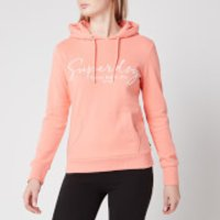 Superdry Women's Alice Script Emb Entry Hoody - Desert Flower - UK 10