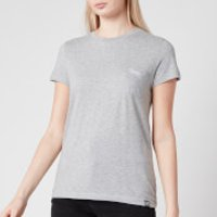 Superdry Women's Orange Label Crew Neck T-Shirt - Mid Grey Marl - UK 16