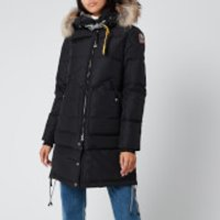 Parajumpers Women's Long Bear Coat - Black - S