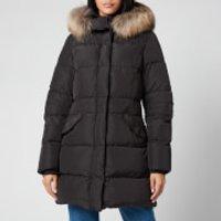 Parajumpers Womens Michelle Long Coat - Black - M