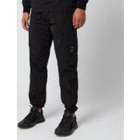 C.P. Company Men's Elasticated Waist Cargo Pants - Black - 48/M