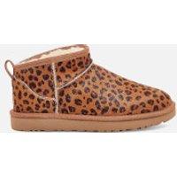 Ugg UGG Women's Classic Ultra Mini Leopard Boots - Natural - UK 3