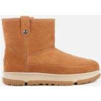 UGG Women's Classic Weather Mini Water Resistant Leather Boots - Chestnut - UK 4