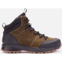 UGG Men's Emmett Waterproof Leather Hiking Style Boots - Moss Green - UK 10