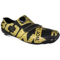 Bont Riot+ Road Shoes - Black/Gold - EU 39