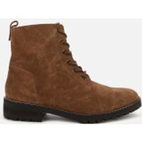 Superdry Womens Commando Lace Up Boots - Brown - UK 5