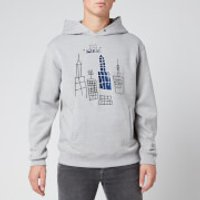 Coach Men's Basquiat Hoodie - Heather Grey - S