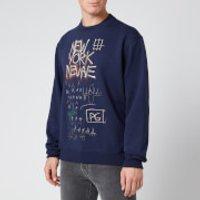 Coach Men's Basquiat Sweatshirt - Blue - S