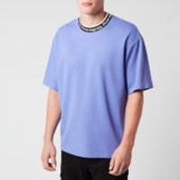 Acne Studios Men's Logo Jacquard T-Shirt - Dusty Purple - M