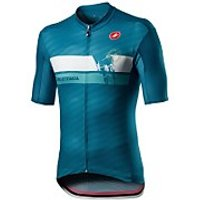Castelli Giro D'Italia Cima Jersey - Deep Ocean - M