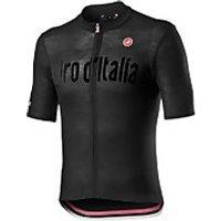 Castelli Giro D'Italia Heritage Maglia Nera Jersey - Nero Vintage - XXL