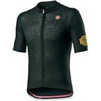 Castelli Giro D'Italia Prosecco Jersey - Bottle Green - L