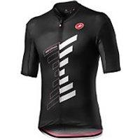 Castelli Giro D'Italia Trofeo Jersey - Nero - XL