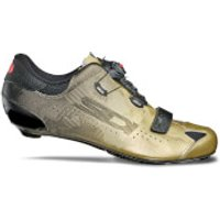 Sidi Sixty Carbon Road Shoes - Limited Edition Black/Gold - EU 42.5