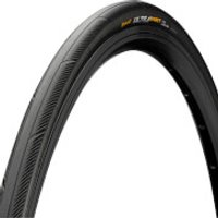Continental UltraSport III Clincher Folding Road Tyre - 700 x 25C - Black