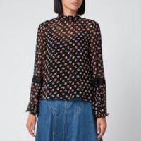 See By Chloe Women's Print Blouse - Black - EU 36/UK 8