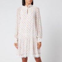 See By Chloe Women's Long Sleeve Mini Dress - White - EU 42/UK 14