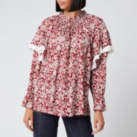See By Chloe Women's Peonie Blouse - Red White - S
