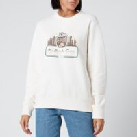 Coach 1941 Women's Apple Camp Sweatshirt - Ivory - L