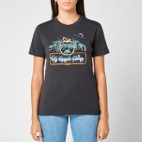 Coach 1941 Women's Apple Camp T-Shirt - Dark Shadow - M