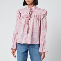 Philosophy di Lorenzo Serafini Women's Liberty Fantasy Print Shirt - Pink - IT 40/UK 8