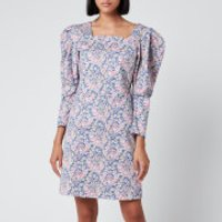 Philosophy di Lorenzo Serafini Women's Liberty Fantasy Print Dress - Blue - IT 42/UK 10