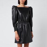 Philosophy di Lorenzo Serafini Women's Faux Leather Dress - Black - IT 44/UK 12