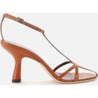 Simon Miller Women's Star Leather Heeled Sandals - Sepia - UK 7
